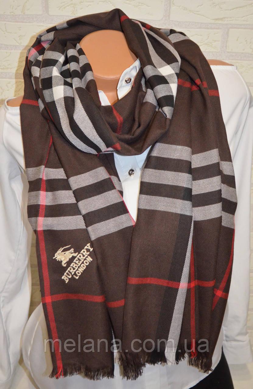 9db380ce0505 Палантин шарф в стиле Вurberry (Барбери) коричневый  продажа, цена в ...