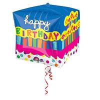 Happy Birthday!, фольгированный шарики с гелием - 46 см.