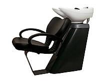 Парикмахерская мойка Инокс c креслом Виктория