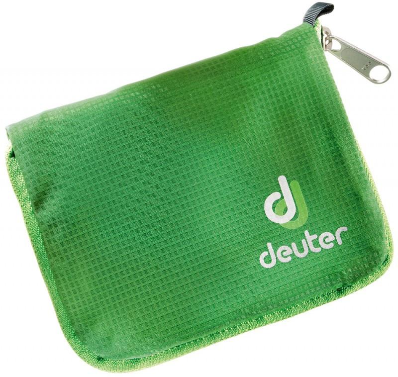 Надійний спортивний гаманець Zip Wallet Deuter зелений, синій, чорний