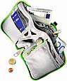 Надійний спортивний гаманець Zip Wallet Deuter зелений, синій, чорний, фото 4