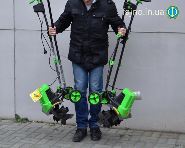 культиватор электрический Кентавр КЭ 1400 фото 9