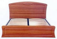 Кровать двуспальная Дженифер КТ-659 с метал. каркасом (БМФ) 1780х380х1100мм