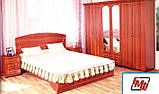 Кровать двуспальная Дженифер КТ-659 с метал. каркасом (БМФ) 1780х380х1100мм , фото 4