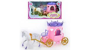 Карета с лошадью для куклы арт.315, фото 2