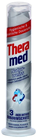 Зубная паста Theramed Natur weiss 100 мл, фото 1