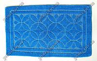 """Коврик для ванной 55х85 см """"Тритон"""", цвет синий"""