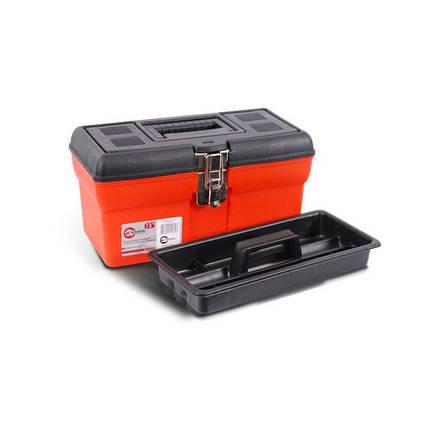 """Ящик для инструмента с металлическими замками 13"""" 330x180x165 мм INTERTOOL BX-1113, фото 2"""
