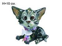 Подарки и сувениры оригинальный декор для дома фигурка котенка