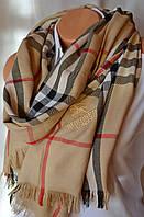 Палантин шарф Вurberry (Барбери) бежевый