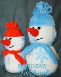 Мягкая игрушка Снеговик (23см)