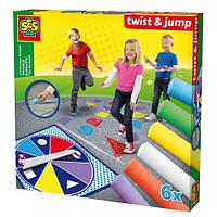 Набор цветных мелков с рулеткой Twist & Jump, SES (02242S)