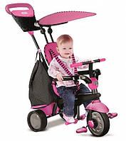Велосипед Glow 4 в 1, розовый, Smart Trike (6402200)