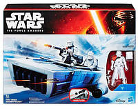 Космический корабль Snowspeeder с фигуркой Snowtrooper, Звездные войны, Star Wars, Hasbro (B3672-1)