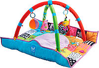 В кругу друзей, развивающий музыкальный коврик, 90 х 90 см, Taf Toys (11955)