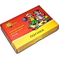 Игра Логика для детей 6-9 лет (русский язык), Thinkers (603)