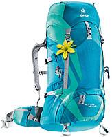 Удобный туристический рюкзак 35 л. для треккинга ACT Lite 35 + 10 SL DEUTER, 3340015 3217, голубой