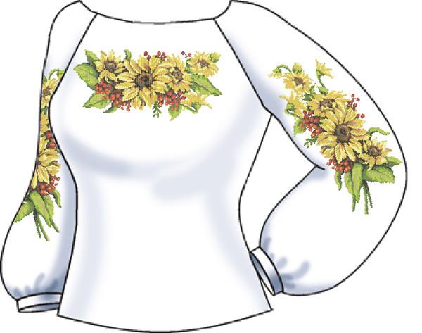 СВЖП-56. Заготовка Жіноча сорочка домоткана біла