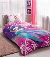 Комплект постельного белья для девочки TAC Frozen Elsa, ранфорс