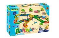 Kid Cars - Железная дорога 4,1 м,Wader (51711)