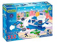 Kid Cars 3D - набор полиция, Wader (53320)