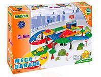 Kid Cars 3D - гараж c трасcою (5,5 м), Wader (53130)