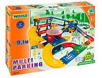 Kid Cars 3D - паркинг с трассою (9,1 м), Wader (53070)