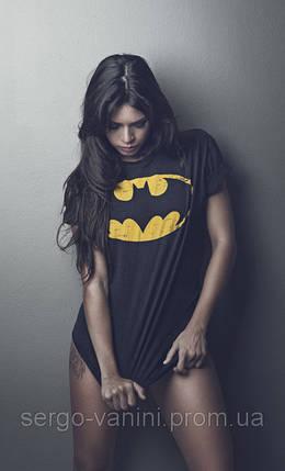 """Футболка жіноча з принтом BATMAN """"Бетмен"""", фото 2"""