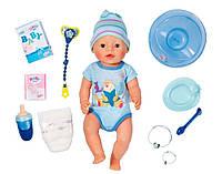 Кукла Baby Born Очаровательный малыш 43 см (с чипом и аксессуарами), Zapf (822012)