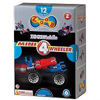 Конструктор Mini 4 Wheeler, серия с колесами, Zoob (12050)
