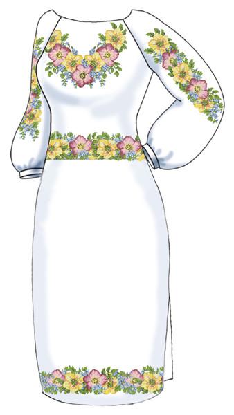 Заготовка для вишивки бісером Жіноче плаття. -