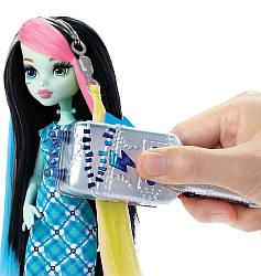 Monster high Фрэнки Штейн высоковольтная причёска - Frankie Stein Voltageous Hair Монстер Хай