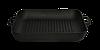 Сковорода гриль чугунная 280х280 (квадратная)