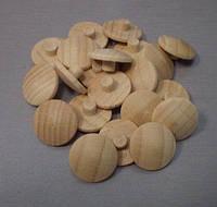 Заглушка деревянная d 13 мм для самореза PZ2 Бук 045.32.310