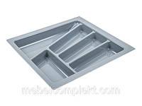 Лоток для кухонных приборов в ящик шир. 400 мм серый Verso
