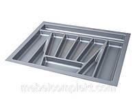 Лоток для кухонных приборов в ящик шир. 700 мм серый Verso