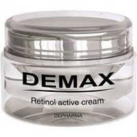 Активный крем с ретинолом для обновления и омоложения кожи лица Demax Line Retinol Active Cream 100 мл