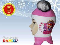 Теплые шлемы для девочек