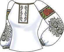 СВЖБ-55. Заготовка Жіноча сорочка лляна біла