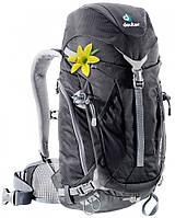 Легкий  черный туристический рюкзак 22 л. ACT Trail 22 SL DEUTER, 3440015 7000