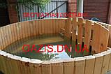 Офуро, японская баня из лиственницы , фото 2