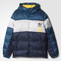 Мужской зимний  пуховик adidas ID96 (АРТИКУЛ:AY9153)
