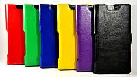 Чехол Slim-book для Alcatel One Touch IDOL X+ 6043D