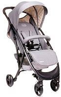 Детская коляска прогулочная 4baby Smart Grey серая Польша