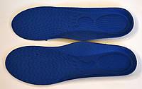 """Стельки детские отрезные """"Insoles"""" синие для кроссовок"""