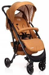 Детская коляска прогулочная 4baby Smart Brown коричневая Польша