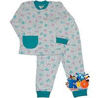 """Детская пижама """"Cute Animals"""" , cotton , для мальчиков от  6-12-18 мес"""
