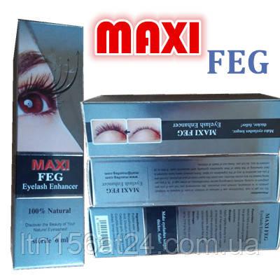 FEG MAXI 6 ml сыворотка для роста ресниц теперь в 2 раза больше оригинал с маркой