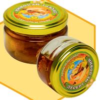 Медовий десерт з курагою 0,17 л