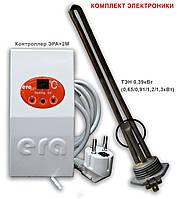 Тэн отопление в радиаторы - 0,91кВт; 8с/15м2, фото 1